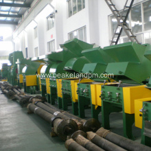 PP PC hollow sheet plastic crusher